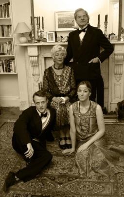 Bliss family sepia