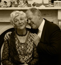Judith and Richard sepia